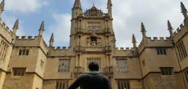 Au pair à Oxford, Angleterre